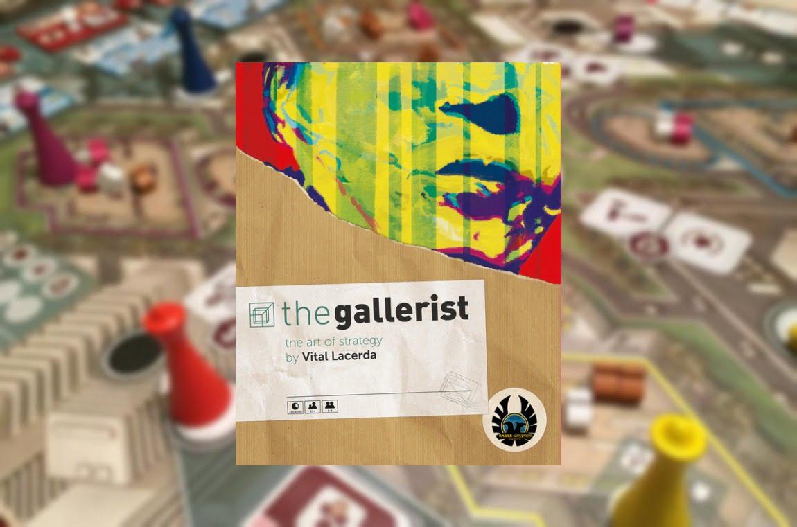 The Gallerist juego de mesa