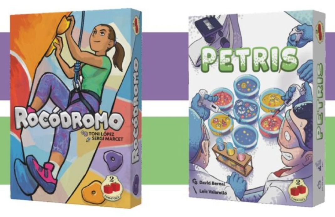 Rocodromo y Petris juego de mesa
