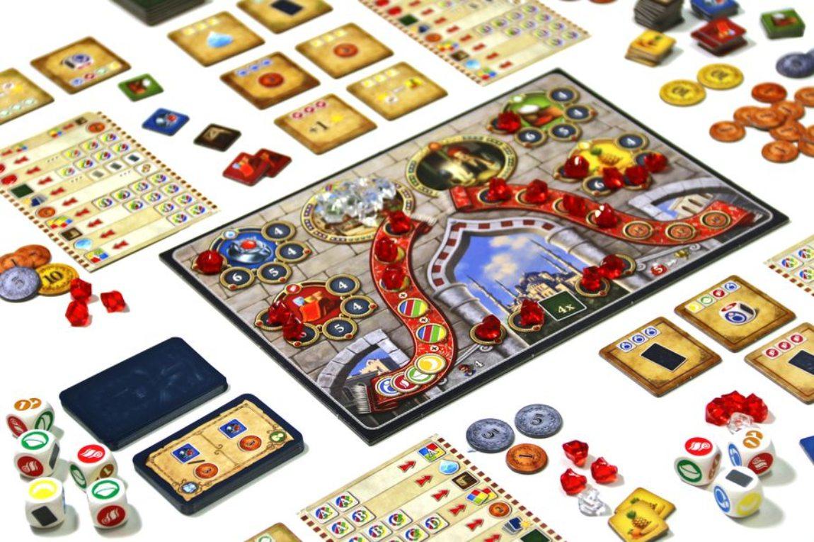 Istanbul juego de dados