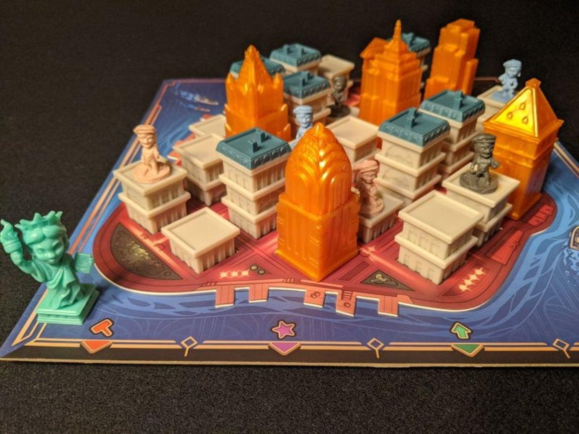 Santorini New York juego de mesa