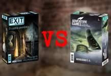 Exit vs Adventures