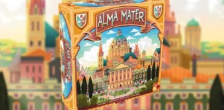 Alma Mater juego de mesa
