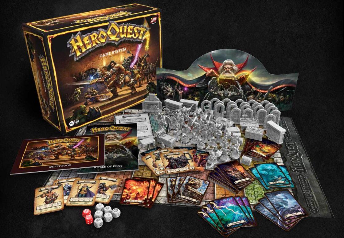 Heroquest juego de mesa