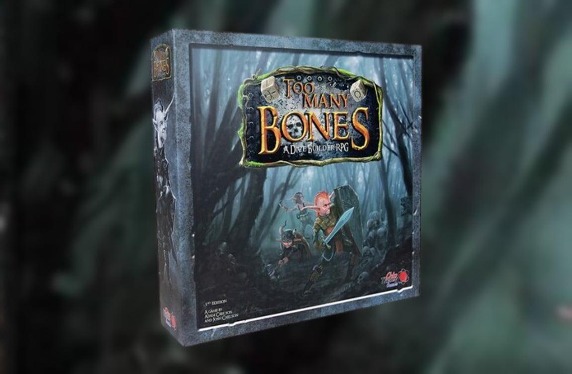 Too Many Bones juego de mesa