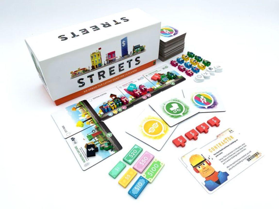 Streets juego de mesa