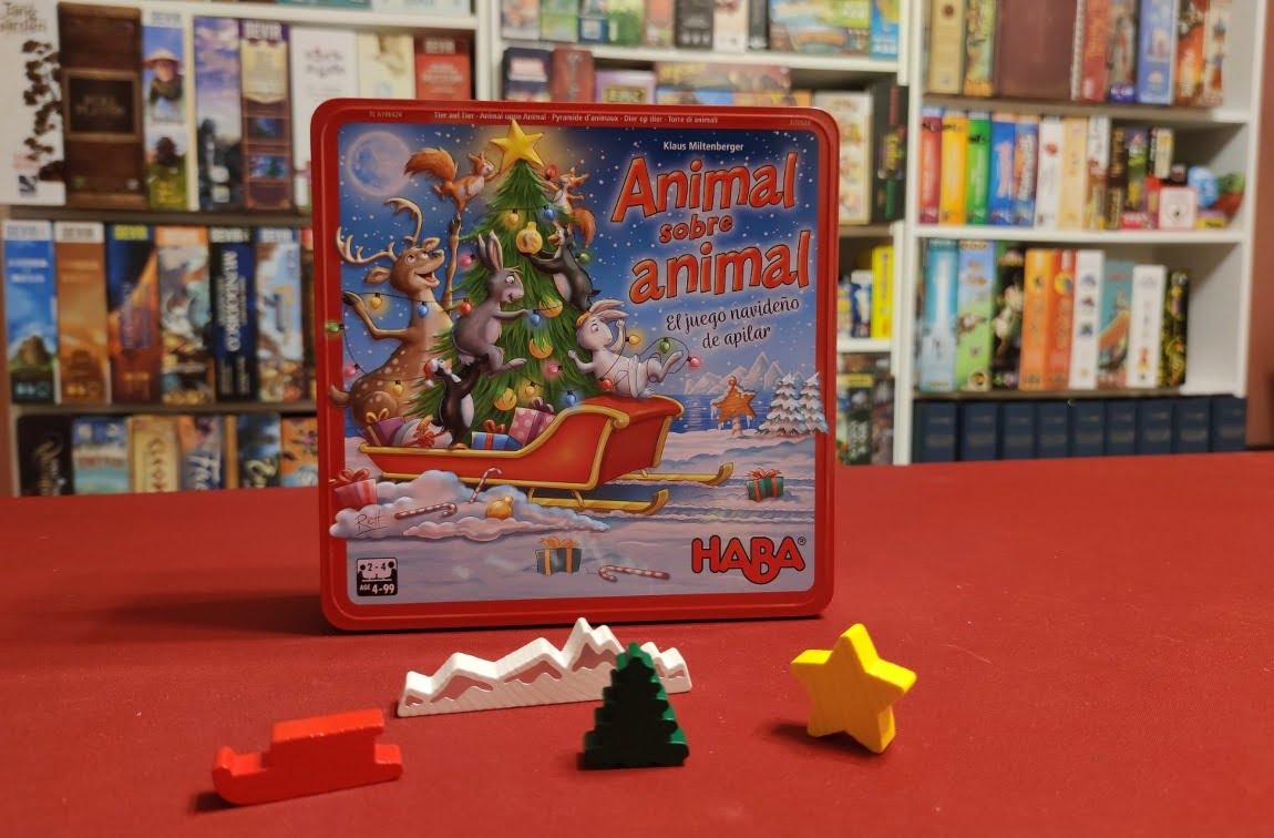 Animal sobre Animal juego de mesa