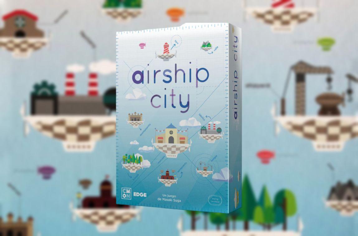 Airship City juego de mesa
