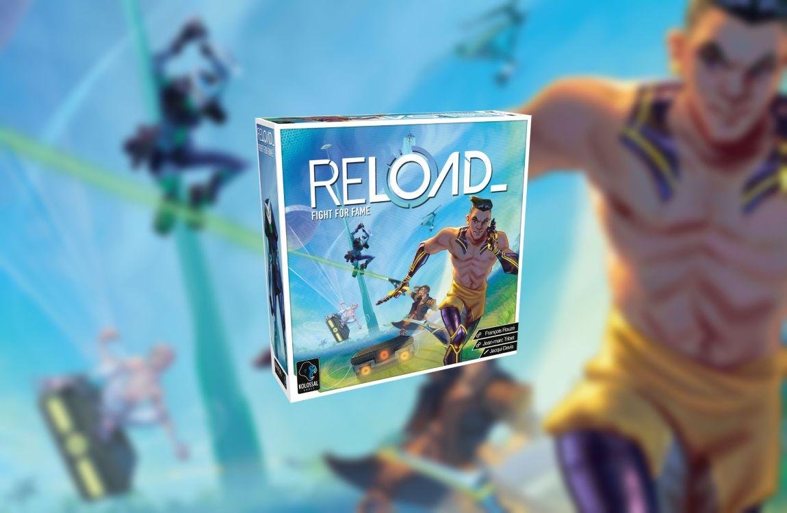 Reload juego de mesa