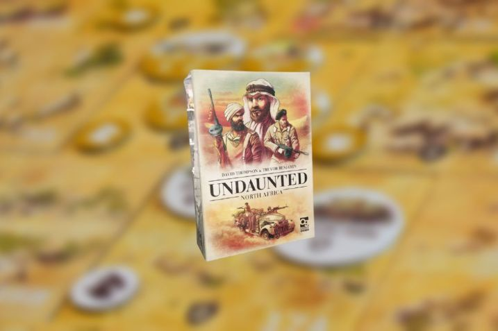 Undaunted North África juego de mesa