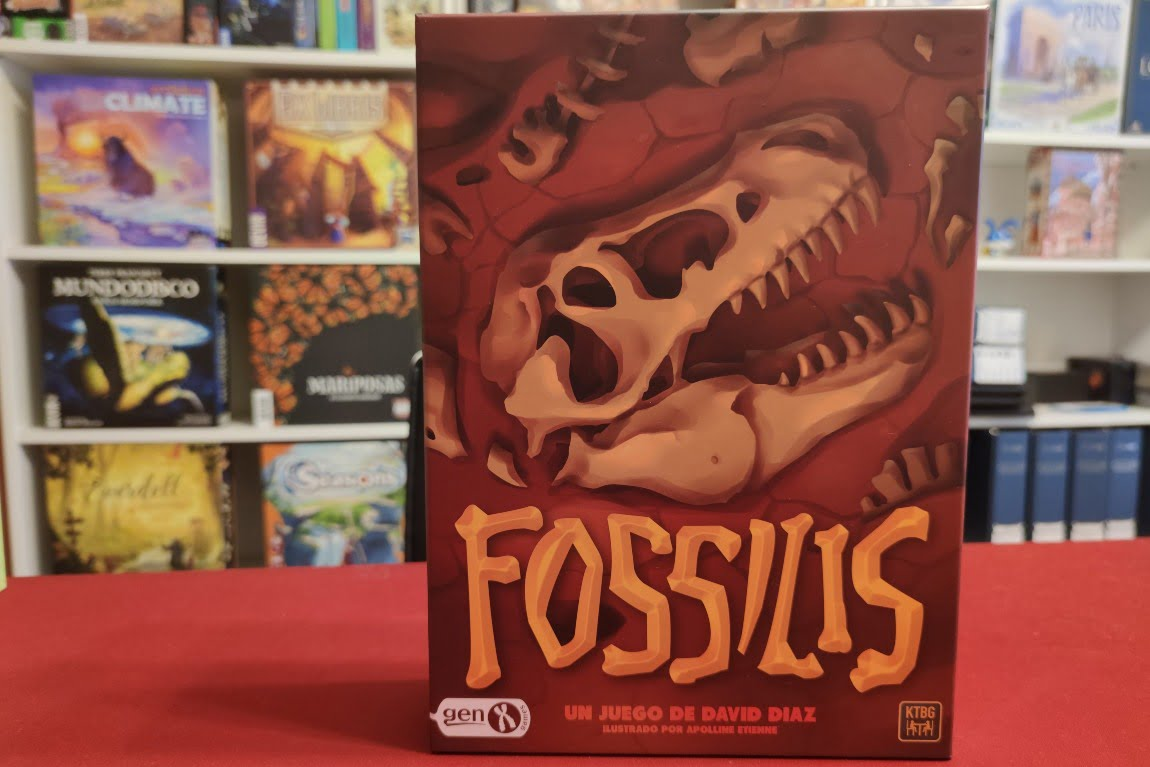Fossilis juego de mesa
