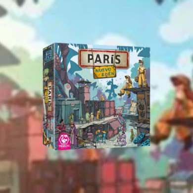 París Nuevo Edén juego de mesa