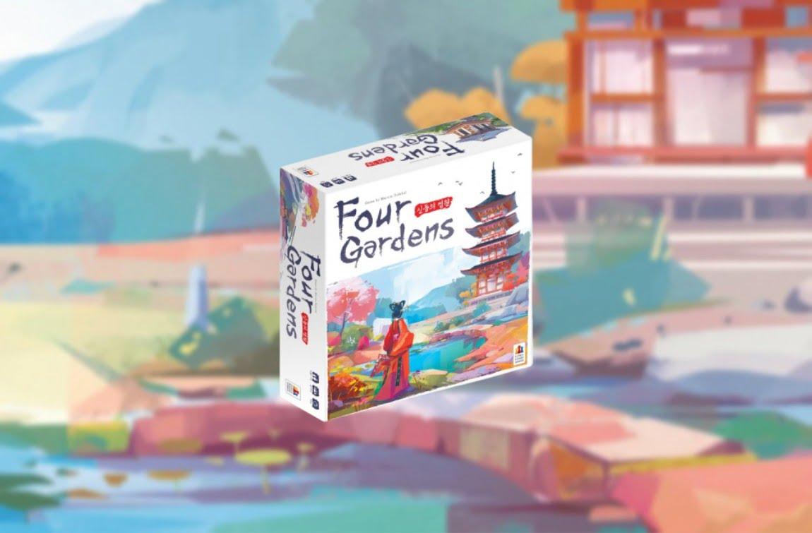 Four Gardens juego de mesa