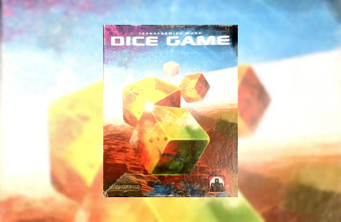 Jacob Frixelius ya comentó en su momento que el proyecto Terraforming Mars estaba tocando a su fin. Pero no se ha ido muy lejos para uno de sus próximos juegos y es que el autor acaba de presentar Terraforming Mars Dice Game.