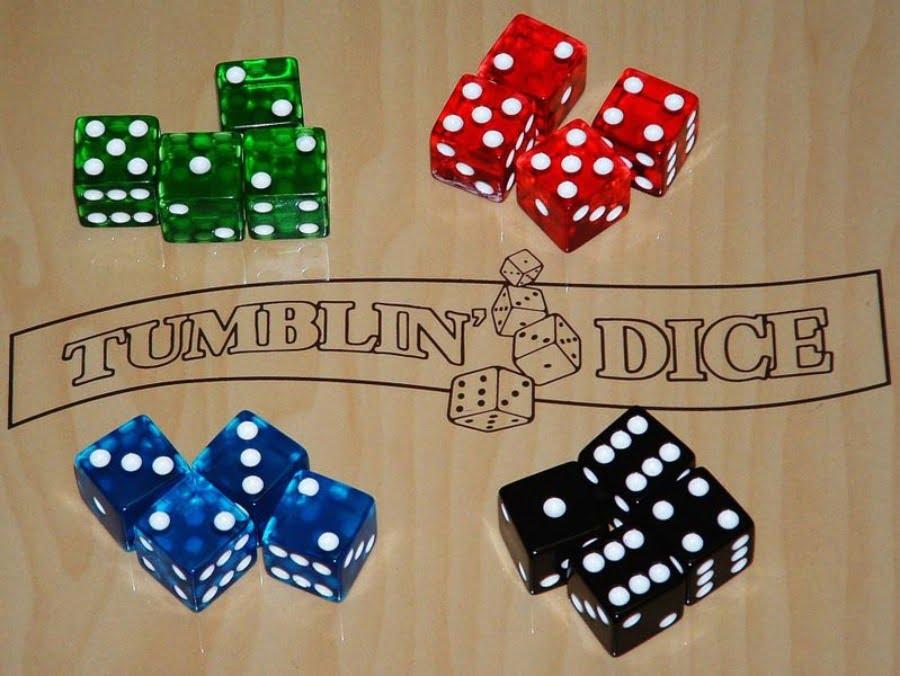 Tumblin Dice juego de mesa