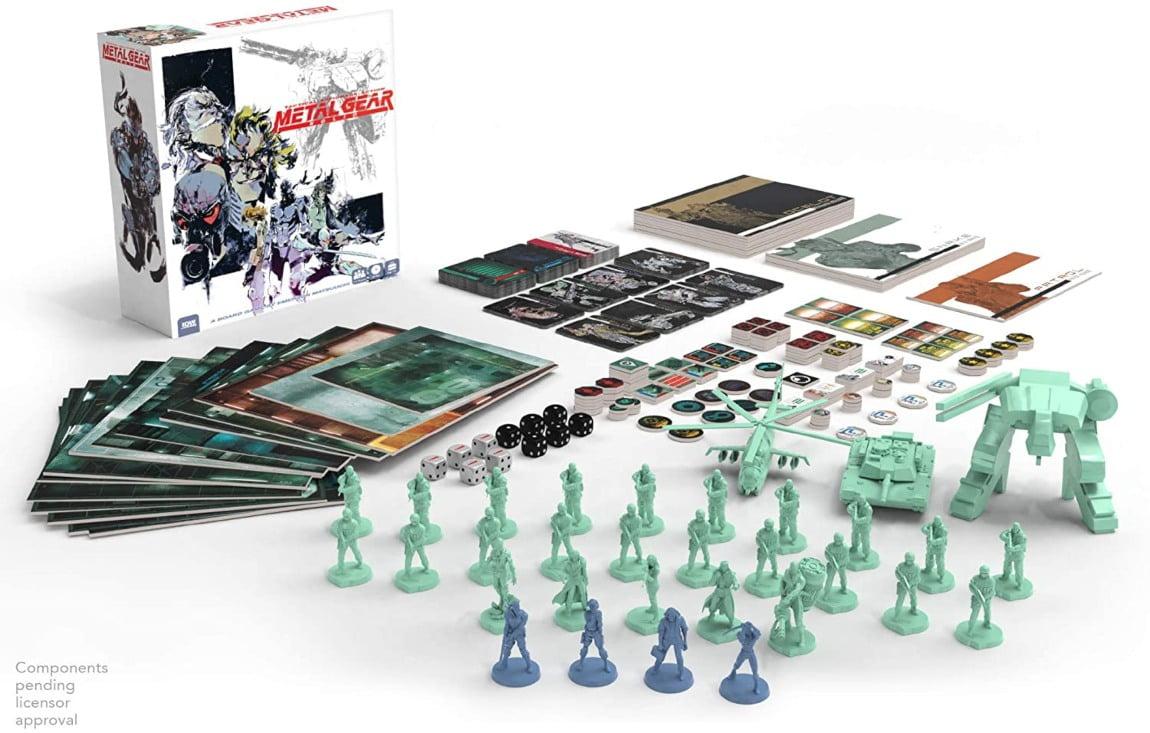 Metal Gear solid juego de mesa