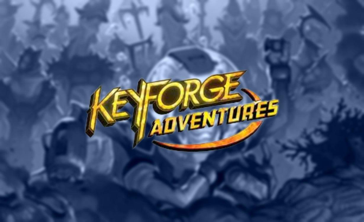 Keyforge Adventures juego de mesa