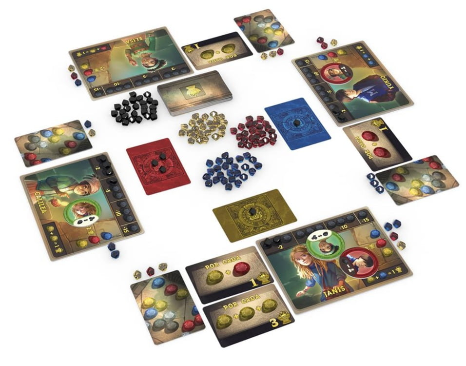 Aztec juego de mesa