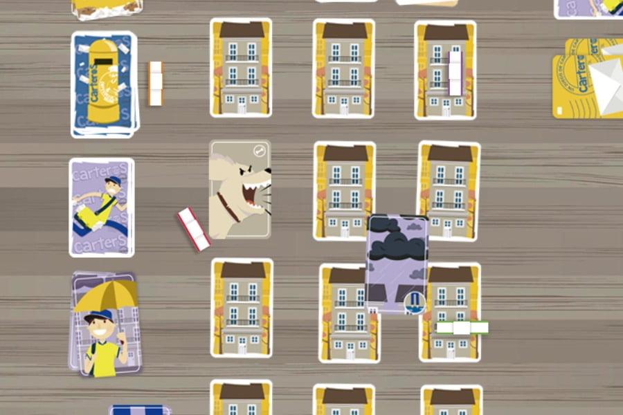 Carteros juego de mesa