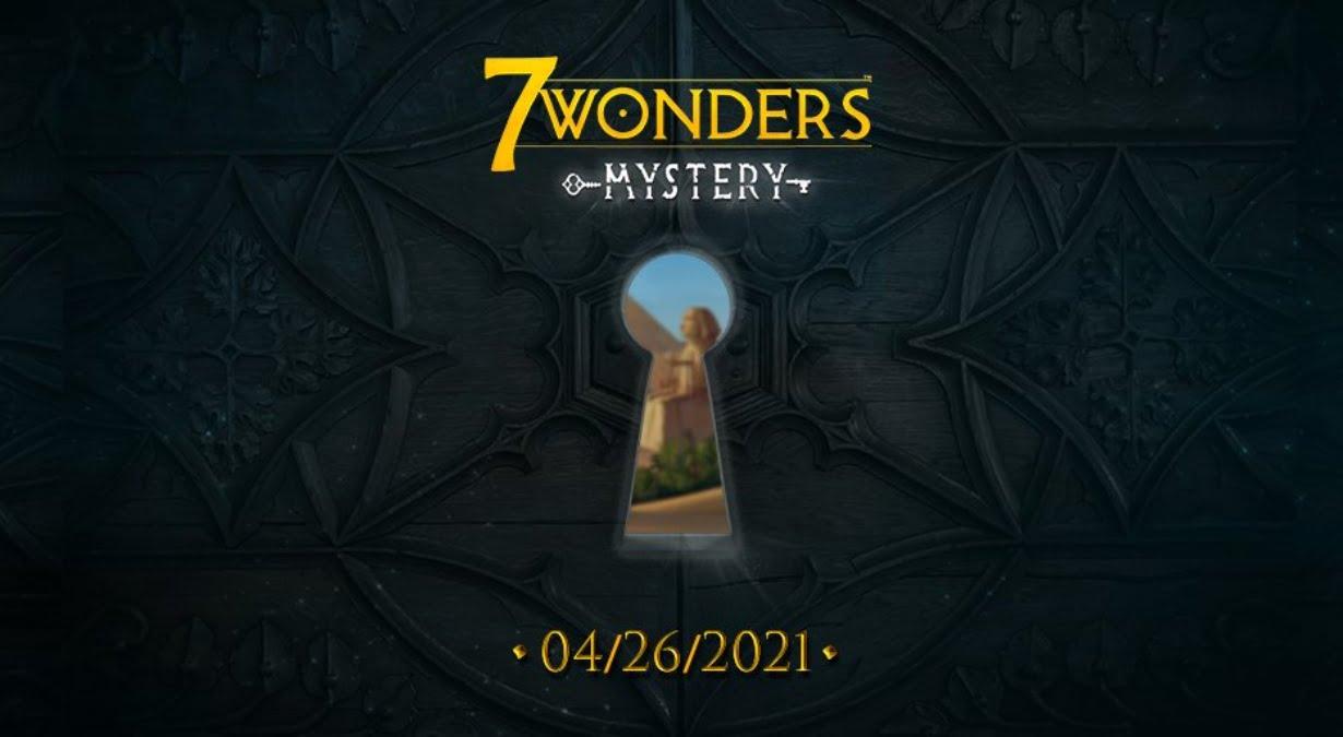 7 Wonders Mystery juego de mesa