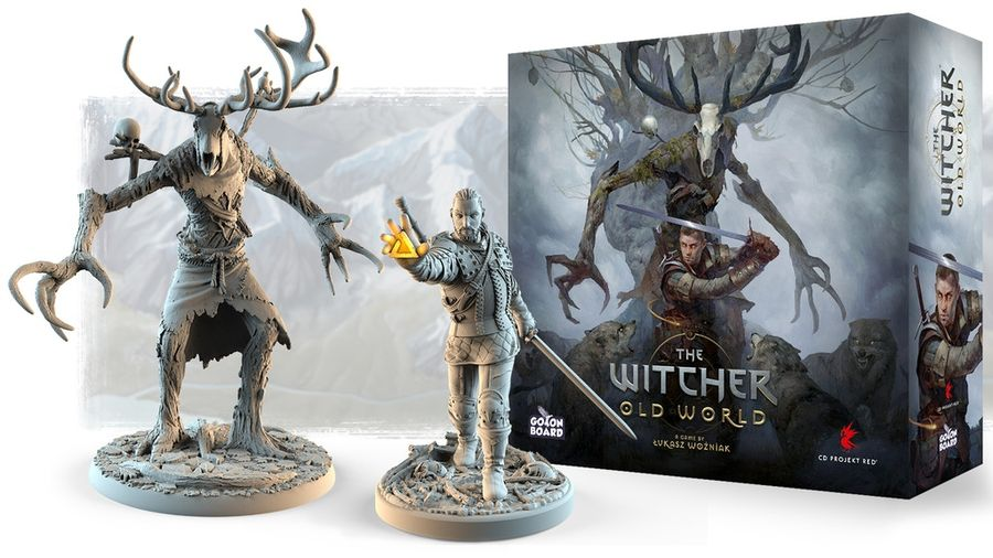 The Witcher: Old World juego de mesa