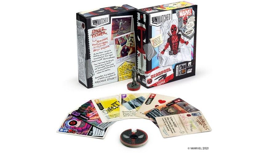 Deadpool Unmatched juego de mesa