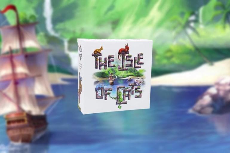 La isla de los gatos juego de mesa