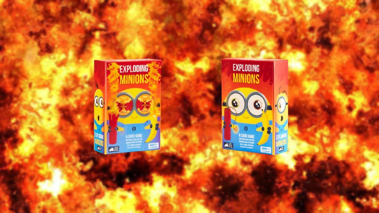 Exploding Minions juego de mesa