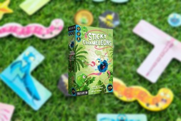 Sticky Chameleons juego de mesa