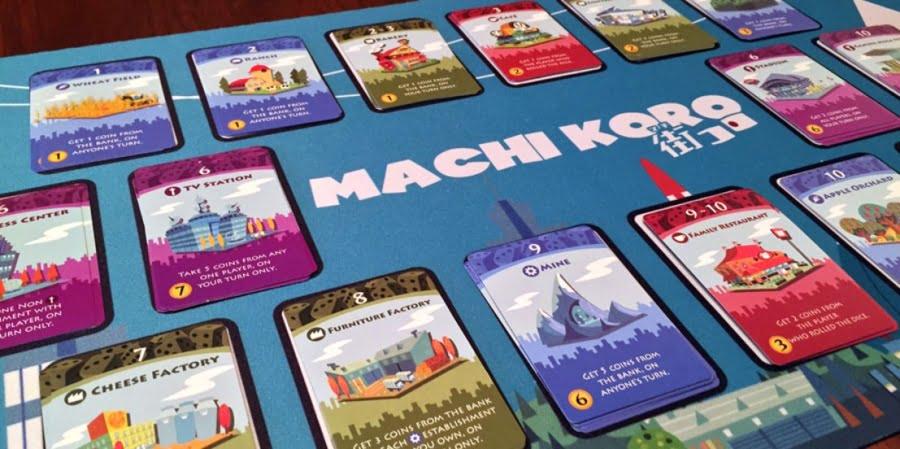 Machi Koro 2 juego de mesa
