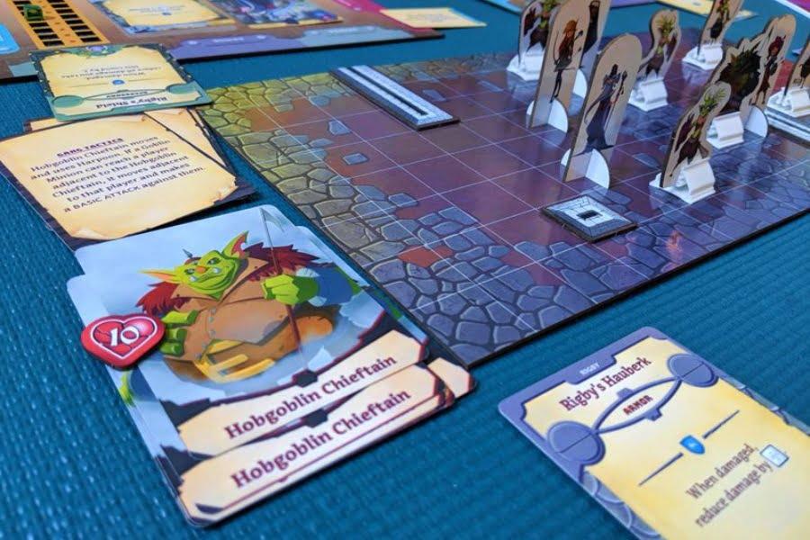 Adventure Tactics juego de mesa