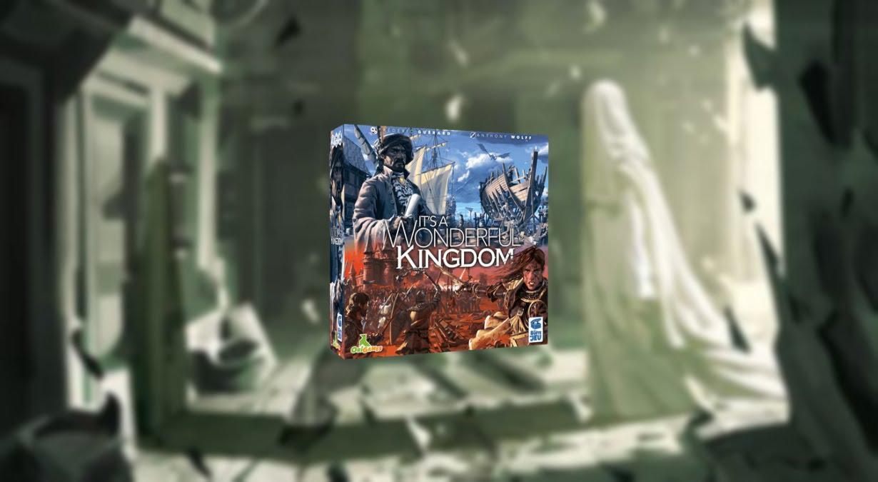 it´s a wonderful kingdom juego de mesa