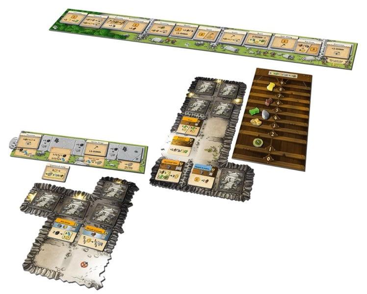 Caverna vs Caverna juego de mesa