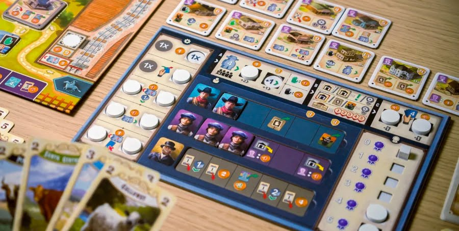Great Western Trail Second Edition juego de mesa
