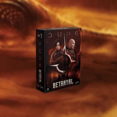 Dune Betrayal juego de mesa