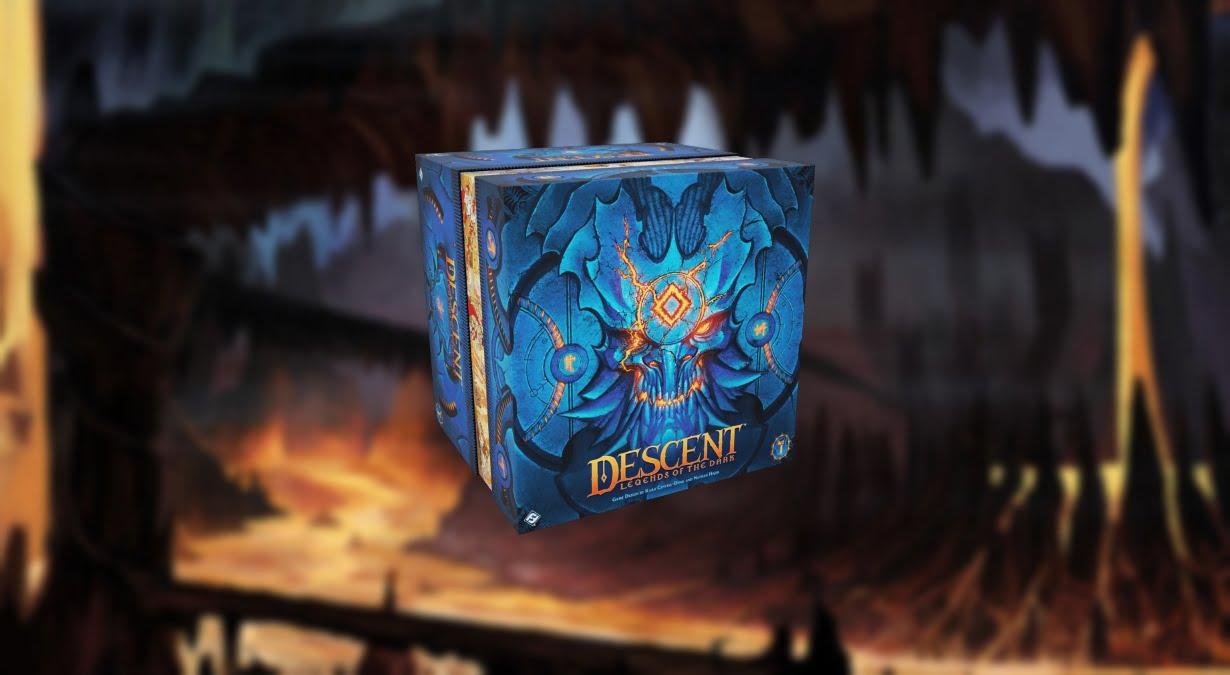 Descent Legends of the Dark juego de mesa