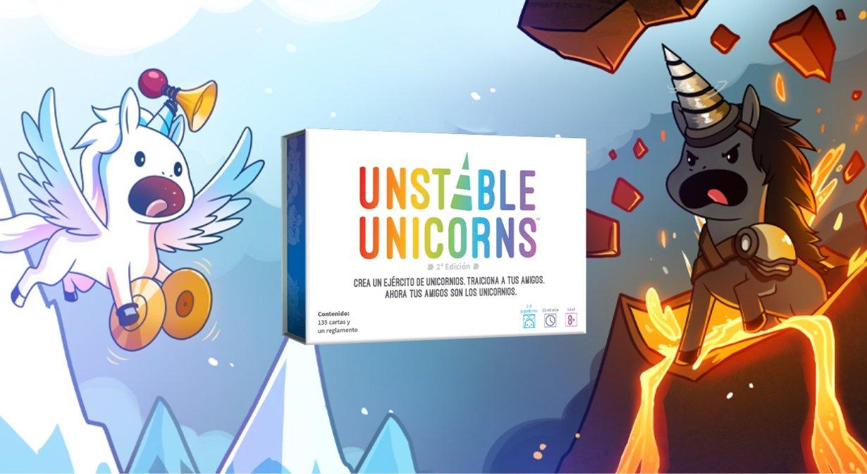Unstable Unicorns Juego de mesa