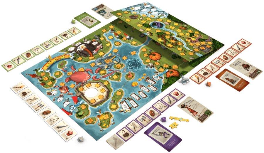 Key to the Kingdom juego de mesa