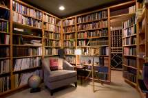 Small Home Library Room