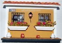 Wooden Decorative Houses of Old San Juan Puerto Rico