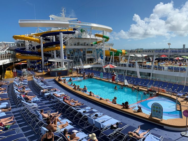 Symphony of the Seas, el crucer más grande del mundo.