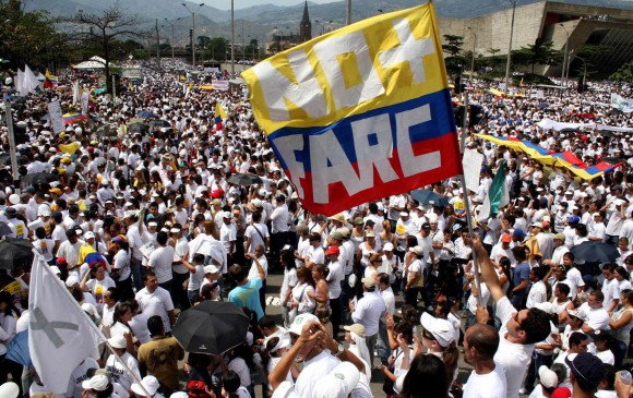 Resultado de imagen para marchas pacificas en bogota