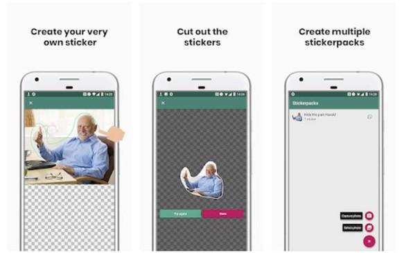 Resultado de imagen para Cómo crear stickers en Whatsapp con tus fotos