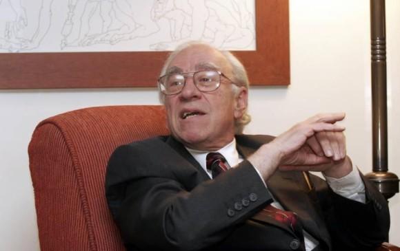 Eduardo Sarmiento, economista, docente y escritor colombiano. FOTO EL PAÍS