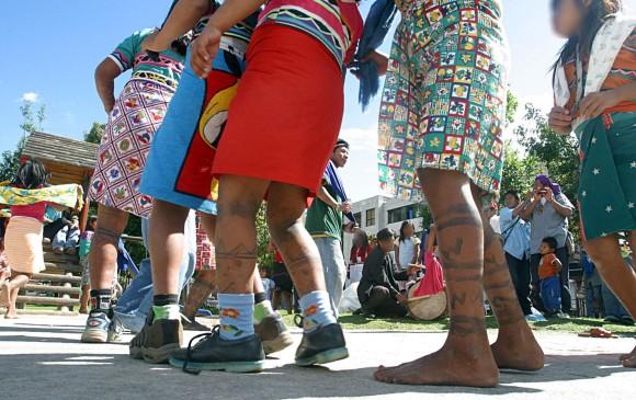 El pueblo indígena embera de Colombia ve factible erradicar la mutilación genital femenina tras las primeras experiencias positivas puestas en marcha desde 2007. FOTO ARCHIVO COLPRENSA