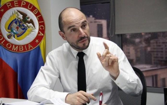 Joshua Mitrotti es el hombre al frente de la Agencia Colombiana para la Reintegración. FOTO COLPRENSA