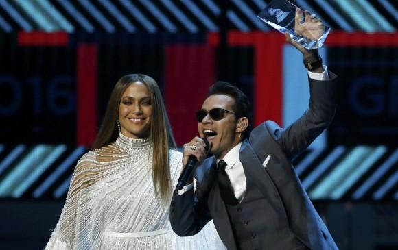 Marc Anthony recibió varios homenajes como Persona del Año de los Latin Grammy. FOTO Reuters