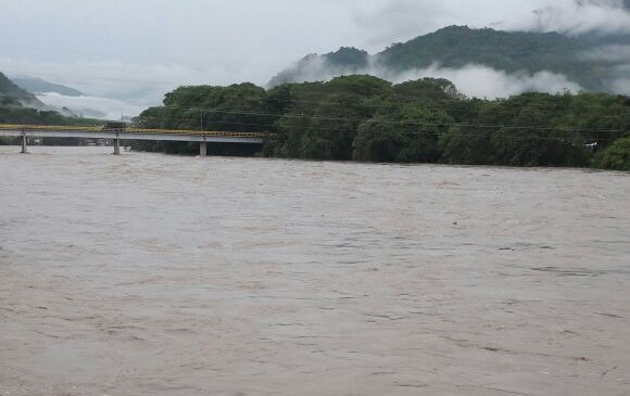 Así se ve el Cauca desde La Pintada. FOTO CORTESÍA