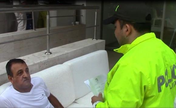 La Dijín de la Policía capturó el pasado lunes en Cartagena al propietario de la compañía Asian Andina Group S.A.S., dueña de bebidas Támesis. FOTO CORTESÍA