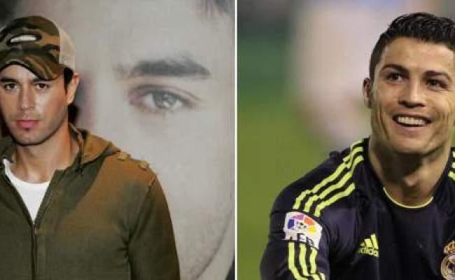 Enrique Iglesias Piensa Que Cristiano Ronaldo Copia Su Estilo
