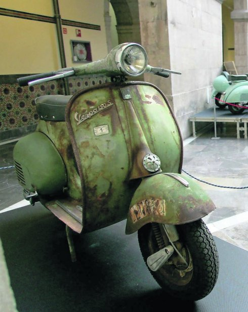 The Vespa that 'El Lute' stole in Leon